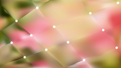 Pink and Green Bokeh Lights Background Illustrator