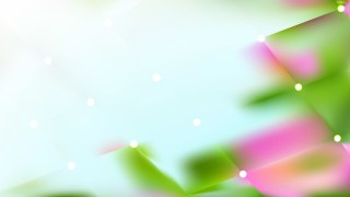 Abstract Pink and Green Bokeh Lights Background Vector
