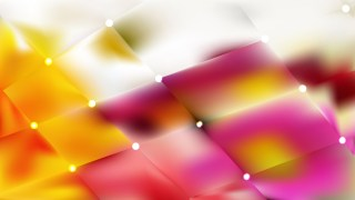 Pink and Yellow Bokeh Lights Background Vector Graphic