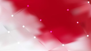 Red and White Lights Background Illustration