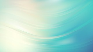 Beige and Turquoise Abstract Curve Background Design