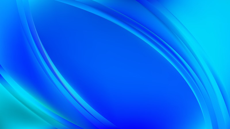 Abstract Blue Wave Background Template