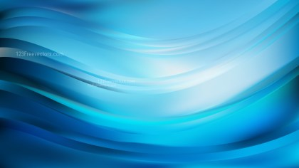 Blue Wave Background Vector Illustration