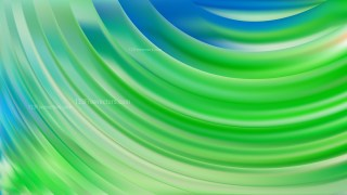 Abstract Blue and Green Curve Background Design