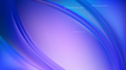 Abstract Blue and Purple Curve Background Illustration
