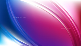 Blue and Purple Abstract Wavy Background Vector