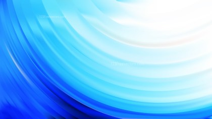 Blue and White Wave Background