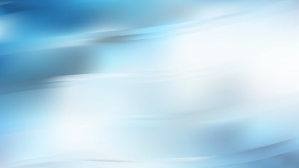 Blue and White Wave Background Vector Illustration