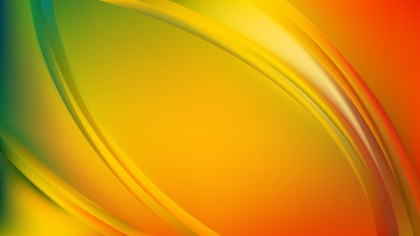 Colorful Abstract Wave Background Template Graphic