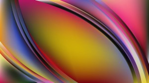 Glowing Colorful Wave Background