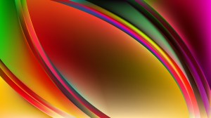 Glowing Colorful Wave Background Illustrator