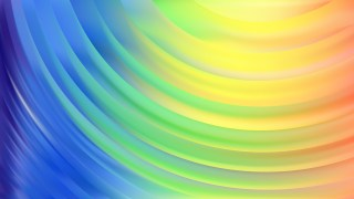 Colorful Abstract Curve Background