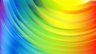Colorful Abstract Wave Background Illustrator