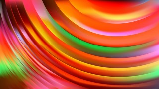 Colorful Curve Background