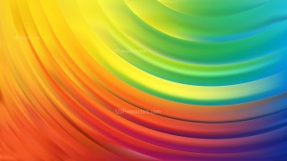 Colorful Curve Background Vector Illustration