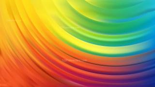 Colorful Curve Background Vector Illustration