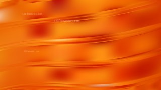 Abstract Red and Orange Wave Background Vector Graphic