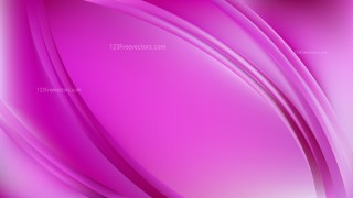 Abstract Fuchsia Shiny Wave Background Graphic