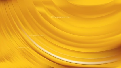 Gold Abstract Wavy Background