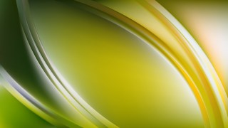 Abstract Green Curve Background Vector Image