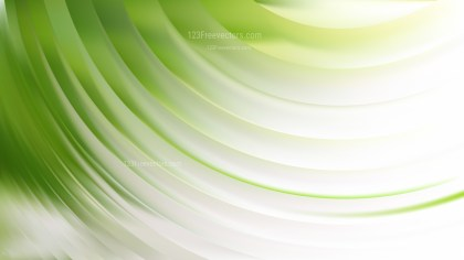 Green and White Abstract Curve Background Illustrator
