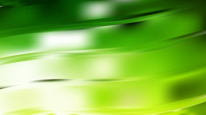 Green and White Curve Background