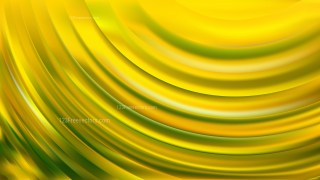 Abstract Green and Yellow Wave Background Design