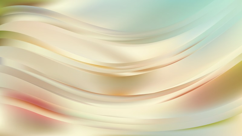 Light Color Abstract Curve Background Illustrator