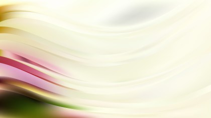 Abstract Light Color Wave Background