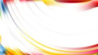 Abstract Light Color Wave Background Illustrator