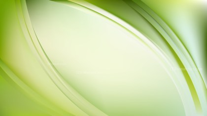 Light Green Abstract Curve Background