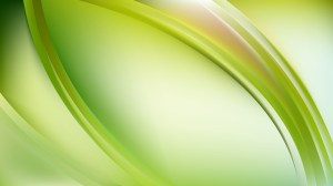 Abstract Glowing Light Green Wave Background Graphic