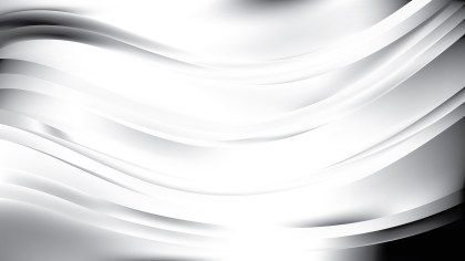 Light Grey Abstract Wave Background Vector