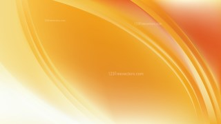 Abstract Light Orange Curve Background Vector Art