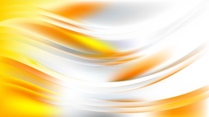 Light Orange Wavy Background