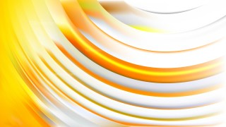 Abstract Light Orange Wave Background