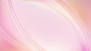 Glowing Light Pink Wave Background Vector