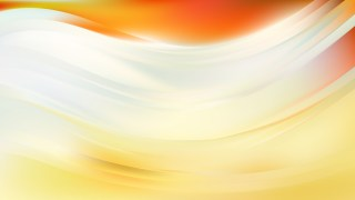 Abstract Light Yellow Wavy Background