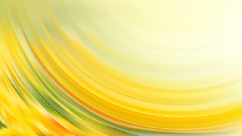 Light Yellow Wave Background Vector Art