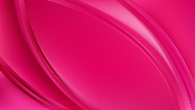 Magenta Abstract Wavy Background