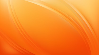 Glowing Orange Wave Background