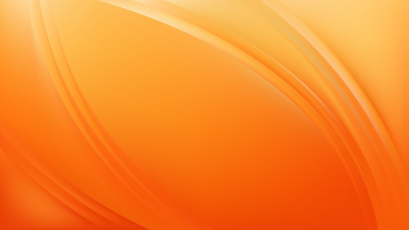 Glowing Orange Wave Background