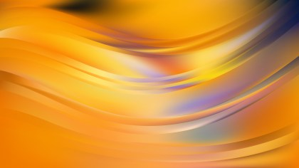 Orange Abstract Curve Background