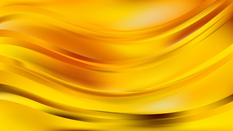 Abstract Orange Wavy Background