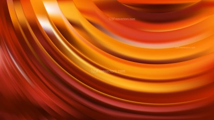 Orange Abstract Curve Background Vector Graphic