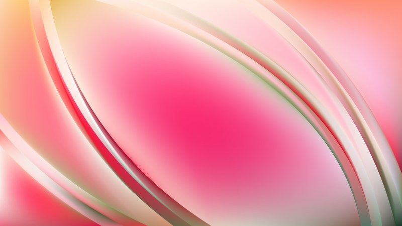 Abstract Pink Wavy Background Vector