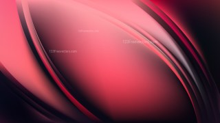 Abstract Pink and Black Shiny Wave Background