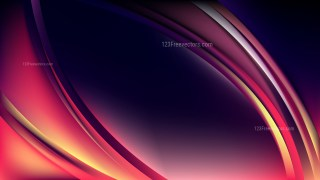 Glowing Abstract Pink and Black Wave Background Illustrator