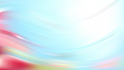 Pink and Blue Curve Background Vector Image