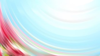 Abstract Pink and Blue Curve Background Vector